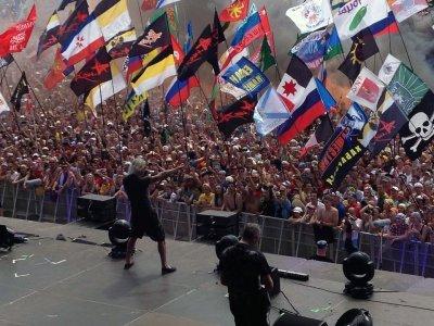 """6 июля 2013 - Концерт - с. Большое Завидово (Тверская обл.) - фестиваль """"НАШЕСТВИЕ"""""""