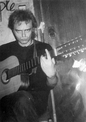 весна 1986 - Квартирник - Ленинград - Кинчев и Задерий на Ржевке