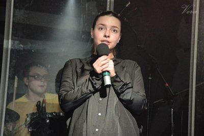 """17 октября 2013 - Вера Панфилова на концерте группы """"Дайте Два"""""""