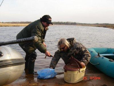 25 апреля 2006 - К.Кинчев на рыбалке