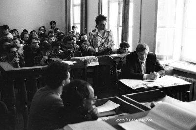 11 июля 1988 - Суд заслушал показания со стороны истца (Алиса) и ответчика (газета «Смена»)