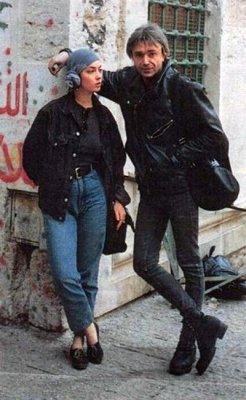 16 июня 1997 - Константин Кинчев и Александр Пономарёв прилетели в Тель-Авив (Израиль)