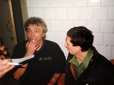 22 декабря 1996 - Перед концертом К.Кинчев даёт интервью