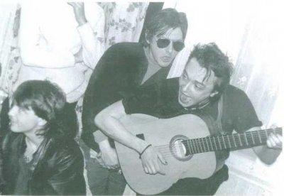 8 января 1986 - Квартирник - Москва - Кинчев, Майк и Башлачёв у Речного вокзала на дне рождения Анжелы Каменцевой