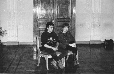 3 февраля 1989 - К.Кинчев стал свидетелем на свадьбе Андрея Столыпина