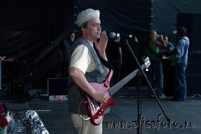30 июня 2006 - Саундчек - Санкт-Петербург - стадион им.Кирова - Фестиваль «Окна открой»
