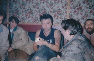 """28 октября 1994 - Павел Кондратенко на концерте АЛИСЫ во ДС """"Юбилейный"""", Санкт-Петербург"""