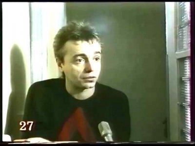 """10 ноября 1992 - К.Кинчев в телепередаче о """"Камчатке"""""""
