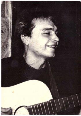 весна 1986 - Квартирник - Ленинград - Кинчев и Задерий на Ржевке(Акустика)