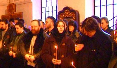 3 марта 1997 - Похороны Анатолия Крупнова - Москва - Введенское кладбище