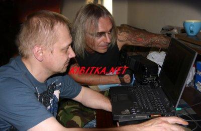 4 августа 2005 - В студии В.Потапова (Санкт-Петербург) проходит фотосессия для оформления альбома «Изгой»