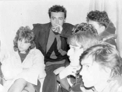 октябрь 1987 - К.Кинчев на собрании Владивостокского Рок-клуба