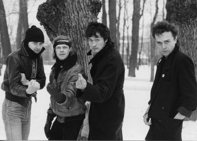 февраль 1986 - В Ленинграде проходит фотосессия к альбому «Red Wave»
