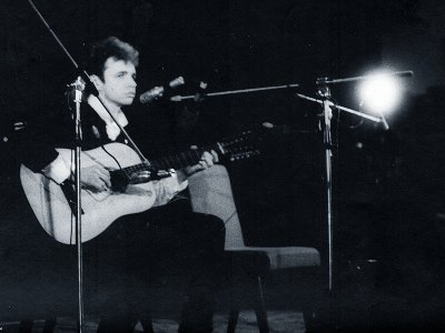 20 февраля 1989 - Концерт - Ленинград - ДК Пищевиков - Вечер памяти Башлачёва - С.Задерий