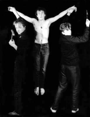 июнь 1985 - Фотосессия у Георгия Молитвина (Кинчев - Задерий - Башлачёв)
