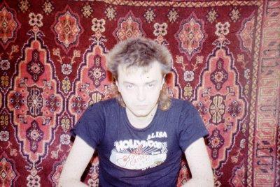 19 декабря 1986 - Концерт - Новосибирск - Кинчев (акустика)