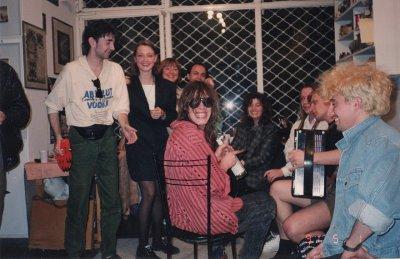 апрель-май 1991 - Облом - Афины - «Стадион на 80 тысяч человек...» (Греция)