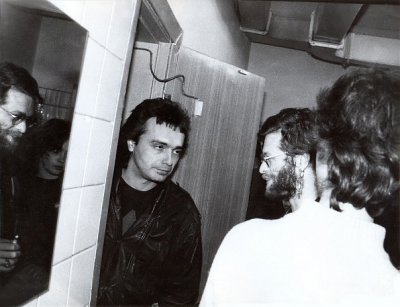 17 ноября 1989 - Ленинград - СКК им.Ленина - К.Кинчев и А.Панфилова на концерте Аквариума