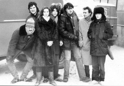 """17 января 1987 - Концерт - Ленинград - ЛДМ -""""Рок-н-рольный мост Ленинград-Новосибирск"""""""