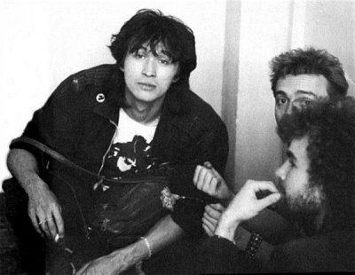31 мая 1986 - Константин Кинчев знакомится с Виктором Цоем