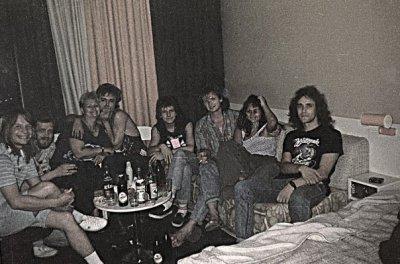 июнь-июль 1988 - София (Болгария) - Кинчев на Софийском международном кинофестивале + поездка в Карнобат