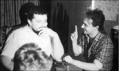 июль 1985 - К.Кинчев в гостях у Алексея Вишни (дискуссия с Жариковым)