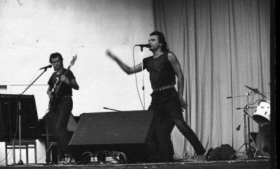 август 1988 - Концерт - Алушта - Курзал (Летний концертный зал) - Рок-фестиваль