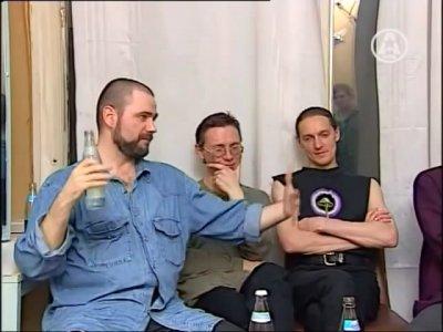 """23 мая 1997 - К.Кинчев даёт интервью для телеканала """"ТЕТ"""" (Киев), программа """"Решето"""""""