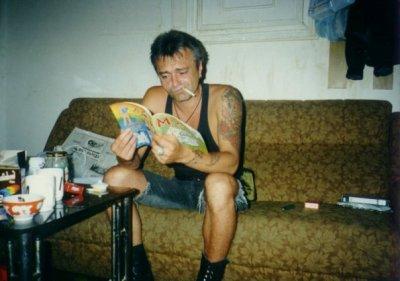 лето 1995 - К.Кинчев участвует в записи песни «Религия» для альбома «Хозяин ключа - Вирус R-n-R»