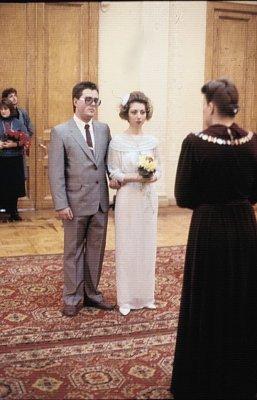 февраль 1989 - К.Кинчев стал свидетелем на свадьбе Андрея Столыпина