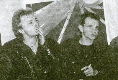 декабрь 1998 - В Петербурге проходит пресс-конференция к грядущим концертам