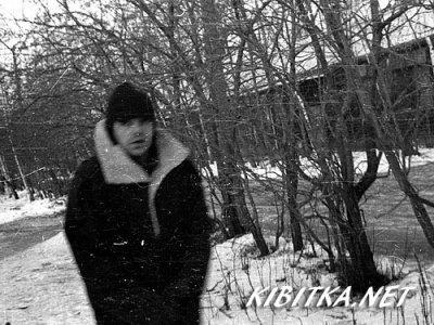 15 февраля 1993 - К.Кинчев на прогулке со своей овчаркой Хит (ул. Народного Ополчения)