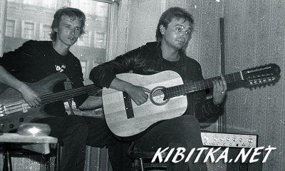 весна 1986 - Квартирник - Ленинград - Кинчев и Самойлов