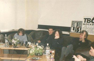 7 декабря 1997 - Пресс-конференция в Омске