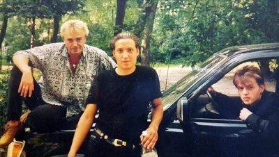 июль-август 1998 - К.Кинчев с двоюродными братьями